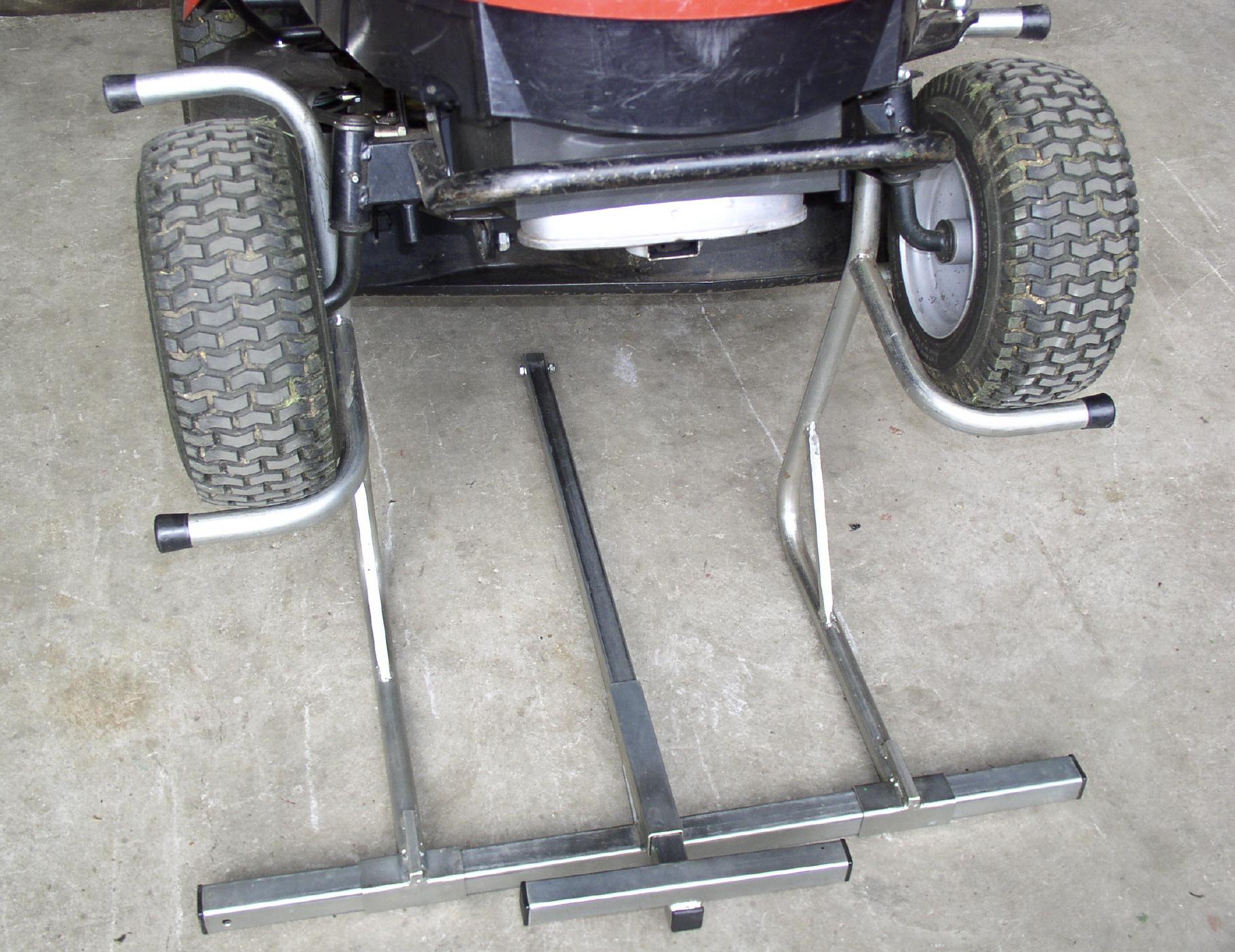 Rowe Landtechnik Hebe Reinigungshilfe Aus Stahl Fur Rasentraktoren